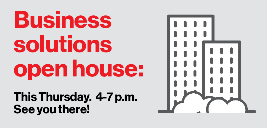 Business Solutions Open House