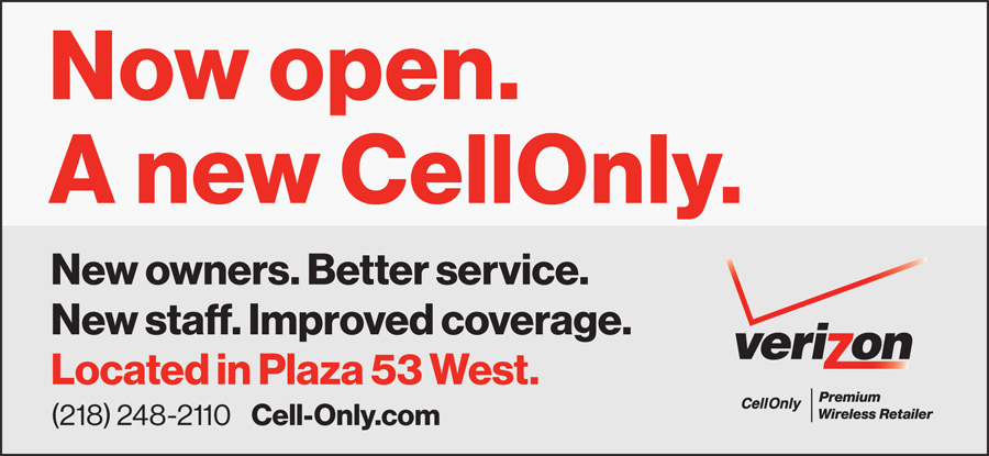 CellOnly is now open in Virginia, Minnesota