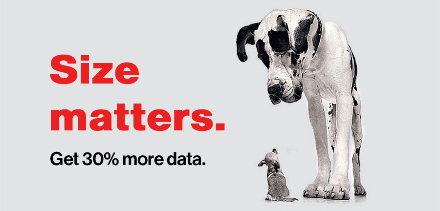 Now get 30% more data on every plan