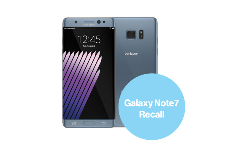 Samsung Note7 Voluntary Recall