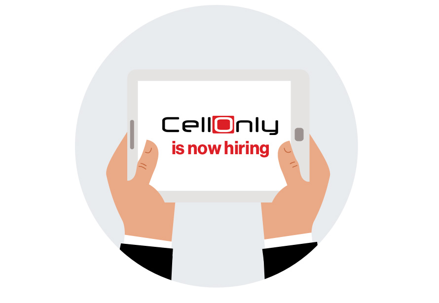 CellOnly is now hiring sales associates and team leaders