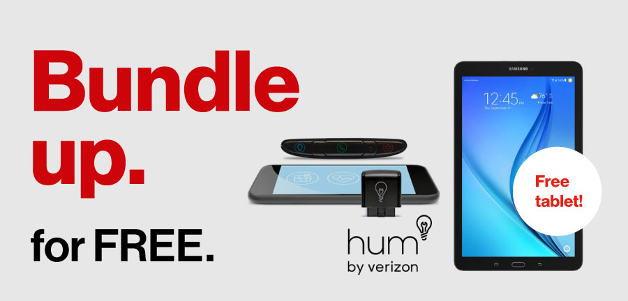 Sign up for hum. Get a free tablet.