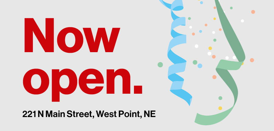 CellOnly West Point, NE store is now open