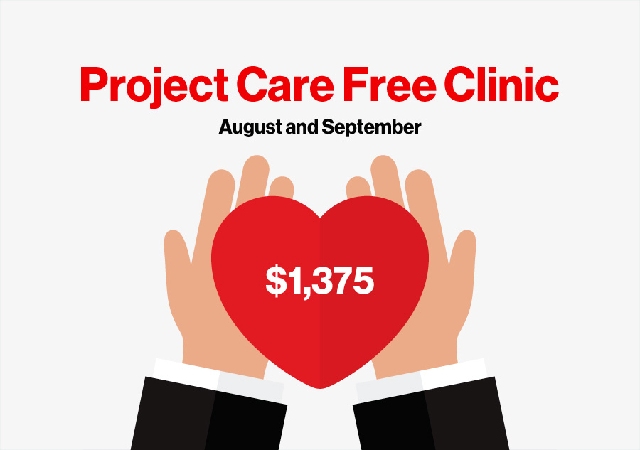 CellOnly raises $1,375 toward Project Care Free Clinic