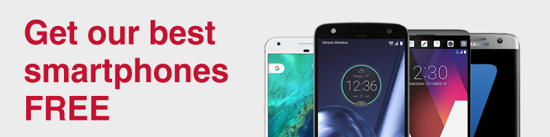 Get our best smartphones for FREE. When you trade in select phones.