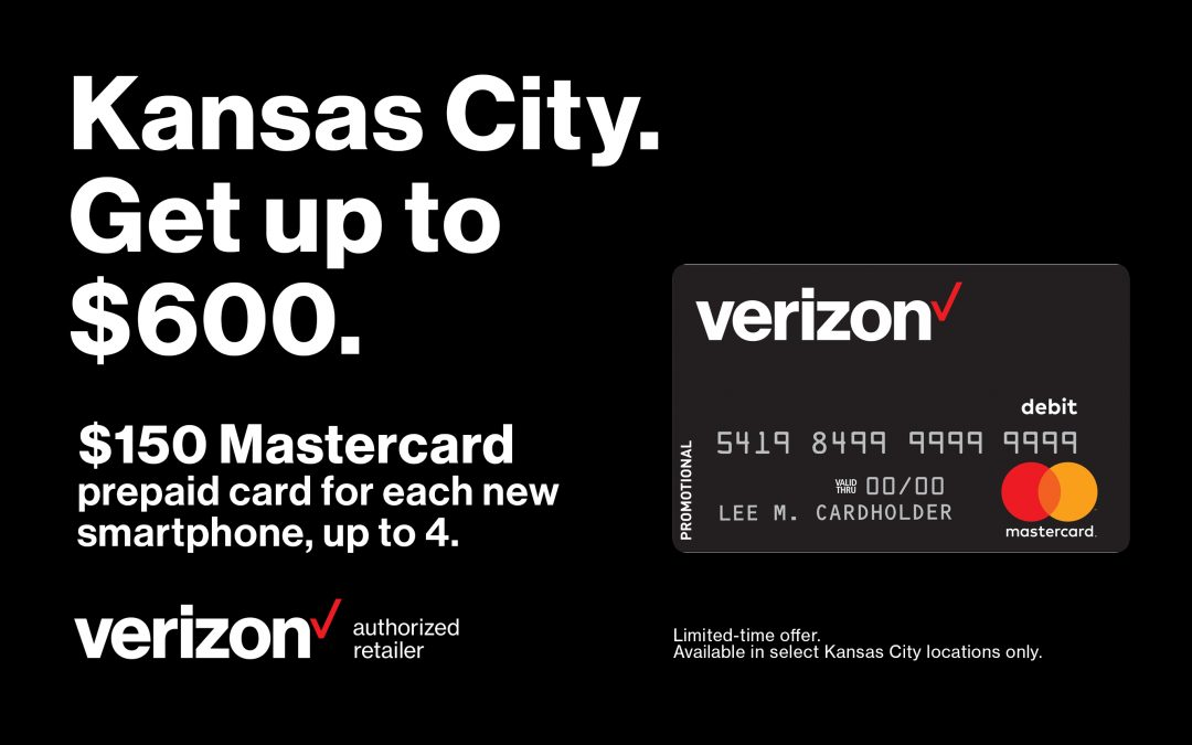 Kansas City. Get up to $600.