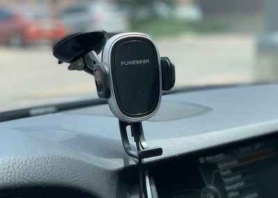 PureGear Wireless Charging Windshield Mount